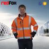 Windproof waterproof high visibility softshell man jacket