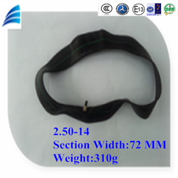 2.50-14 high and stable quality motorcycle part motorcycle tube and inner tube for motorcycle