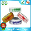 Experienced Factory Bopp Film Acrylic Adhesive Packaging products Logo Printed Custom Washi Tape for Carton Packing