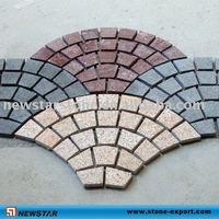 natural pebble turf stone pavers