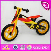 hot sale high quality wooden bike,popular wooden balance bike,new fashion kids bike W16C082