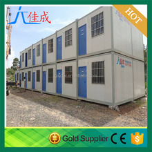 EPS/rock wool/PU sandwich panels container house prefab house
