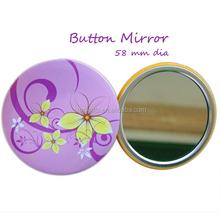 fashion and light make up mirror , button mirror, pocket mirror