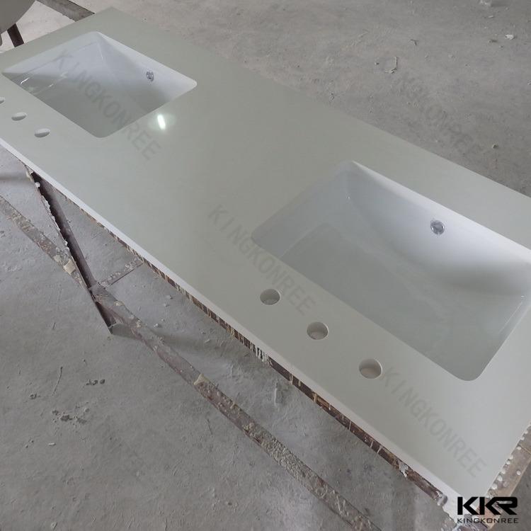 Molded Double Sink Commercial Bathroom Vanity Tops Buy Commercial Bathroom Vanity Tops Double
