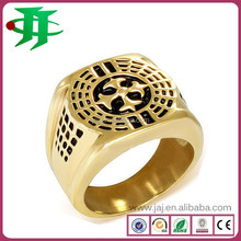 China supplier factory wholesale price unique men comfort fit jewelry rings