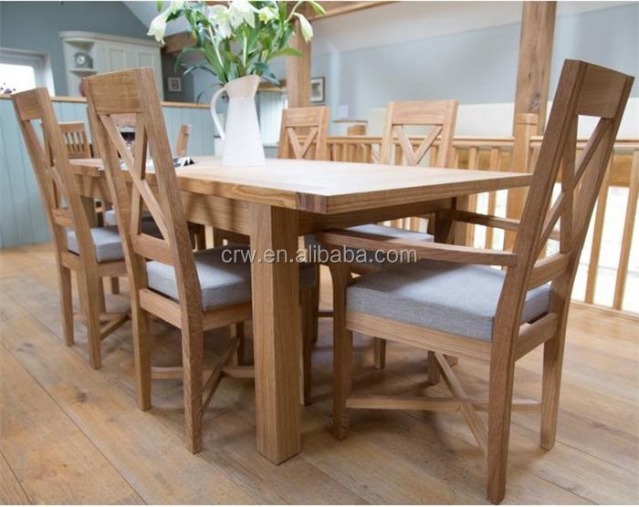 Dt40061 roble macizo muebles de extensión mesa de comedorMesa de