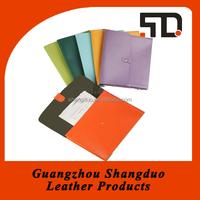 Manufacture Good Handmade Leather Multi-colour Briefcase