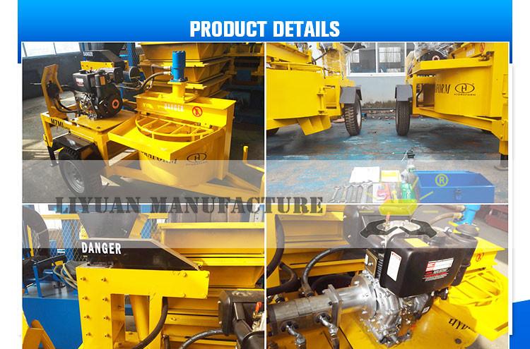 M7mi Diesel hydraform brique d'argile faisant la machine prix