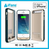 iFans 2400mAh Power Bumper Case for iPhone 5,Flip Battery Case for iPhone 5