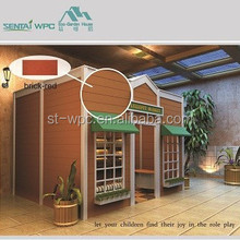 Wind-resistant wooden luxury prefab house