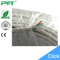 China professional cable manufacturer Rohs 100% pure copper 24awg fluke test cat5e utp cable network cable