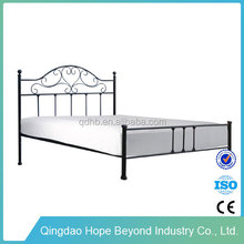 Home furniture wrought iron double bed frame