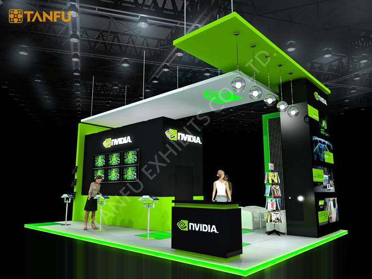 Exhibition Stand Game Ideas : Ftx ft trade show booth exhibit display with led light
