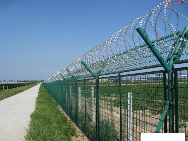 2015 New High Quality Pvc Coated Security Welded Wire Mesh Fence Panel