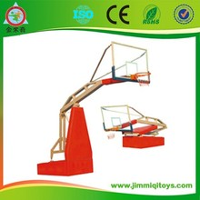 FIBA Electric Gydraulic Collapsible Basketball Stand/system JMQ-J126A