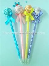 Fancy candy ballpoint pen , Children's gift sweet lollipop shape pen