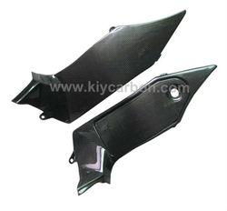 Carbon fiber motorcycle inner side fairings for Triumph Sprint ST 1050
