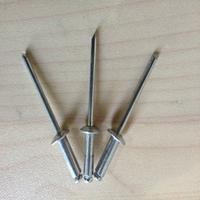 DIN7337 aluminium waterproof blind rivet plain