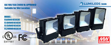Philips LED Cool white 6000K IP67 Outdoor waterproof 200W led flood lights UL cUL DLC Listed with 5 years warranty