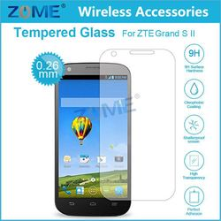 Titanium Tempered Glass Screen Protector For Zte Grand S Ii Best Full Cover Tempered Glass