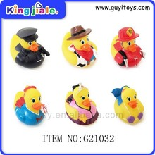 China safe material high quality floating rubber duck