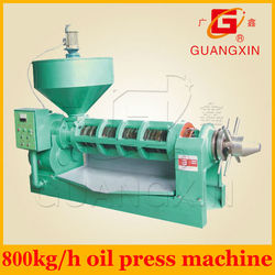 800kg/h biggest capacity oil press for maize germ ,peanut ,soya, sesame ,sunflower