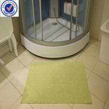 microfiber fabric chenille waterproof bath door mat
