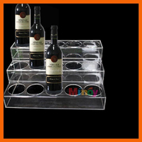 Good sale cheap price acrylic rotating shot glass display stand