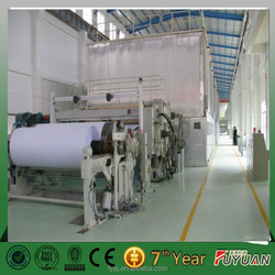 virgin pulp and second pulp materials A4 paper making machine, culture paper making mill, film base paper making mill