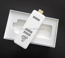 PC on a stick Window 8 mini pc computer stick Intel Atom Quad Core HD MI
