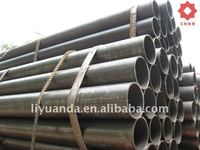 ERW black carbon round welded steel pipe