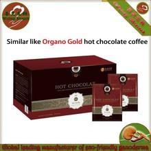 Organic Ganoderma hot chocolate instant coffee