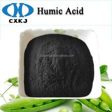 tracce di minerali di ferro contenute in acidi umici