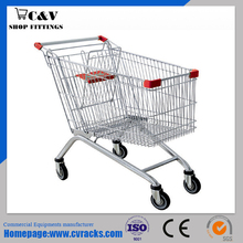 Euro style shopping trolley 210L(plastic film)