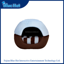 Customized top quality cozy hamburger bed for dog