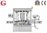 Fully automatic not of metal rotary screw cap machine