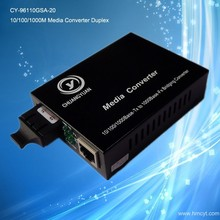 Gigabit optical media converter 10/100/1000M duplex