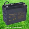 Long Life Yuasan 12V 135AH Sealed AGM Deep Cycle VRLA Lead Acid Batteries -NPC135-12
