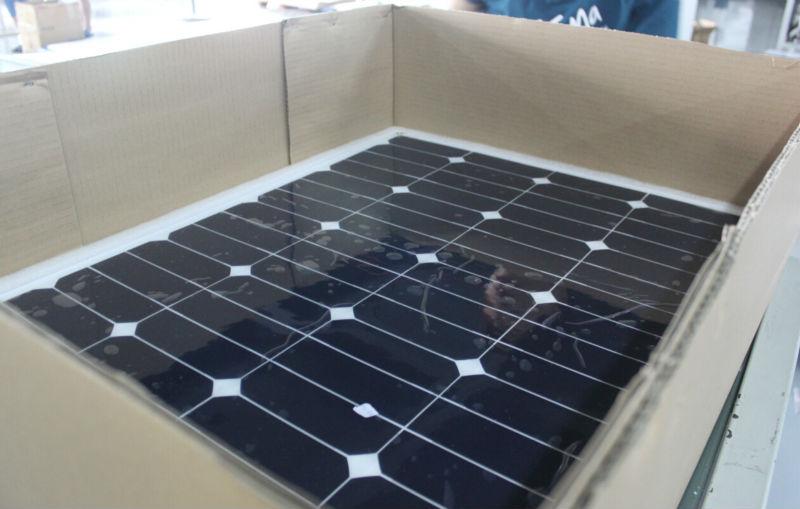 Link Solar The best high quality 100W Sunpower Semi Flexible Solar Panel