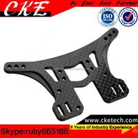Precision Engineering Plastic Machining Parts , Custom CNC Carbon Fiber Machining