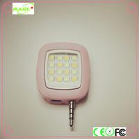 Wholesale 16 LED flash lights enhancing selfie stick fill light