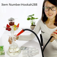 wholesale Glass Hookah Shisha gift package hookah 288 ML Glass