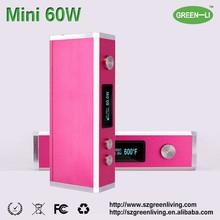 100% original GREEN LIVING variable wattage electronic cigarette big vapor e cigarette electronic cigarette brands