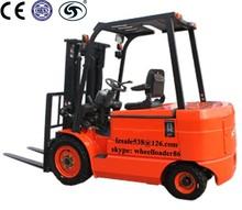 3.5 ton empilhadeira elétrica ce aprovado com bateria e motor de corrente alternada