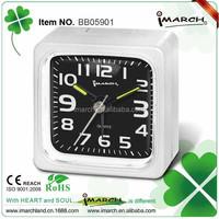 Square Electrionic Mini Beep alarm clock with quartz movement -BB05901