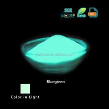 Bluegreen Ecofriendly alcalino-terreux Phosphorescent poudre