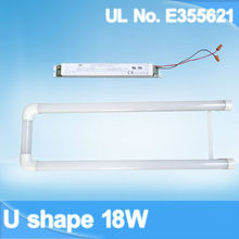 external driver U-bend led tubes available in USA and Canada