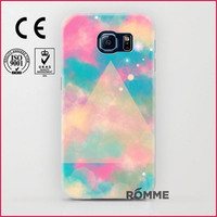 The Phone Case Printing Factory Supplies Various Pattern Protective hard shell for samsung galaxy s6 back cover