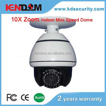 10X Zoom Module Mini speed dome for indoor use Analog PTZ Camera