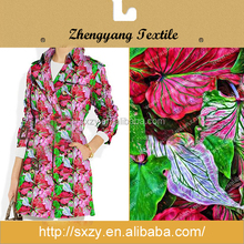 China big plant printing cotton european fabric